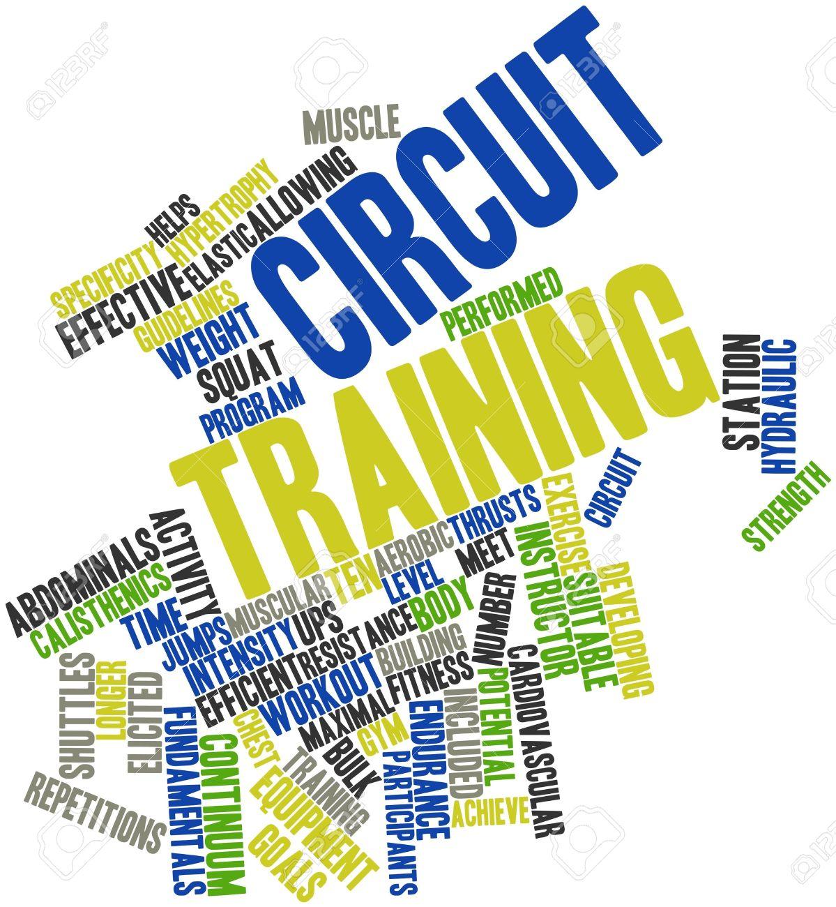 Circuit training photo